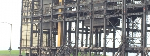 Cockenzie Power Station Demolition November 2015