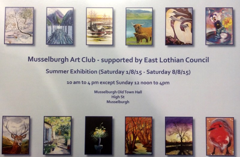 Edited Mussleburgh Art Club Exhibition 2015