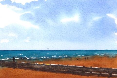 Original watercolour by scottsibbald www.xcottsibbald.co.uk