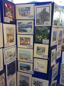 Mussleburgh Art Club at the Libary
