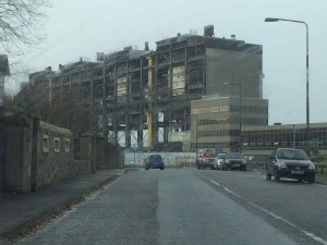 Approach to Cockenzie Power Station Demoltition 2015